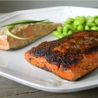 Chris's Favorite Ways to Eat Salmon: Blackened and Mustard Roasted