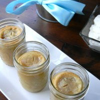 Mini Pies in Mason Jars + How To Make Your Own Pie Filling!
