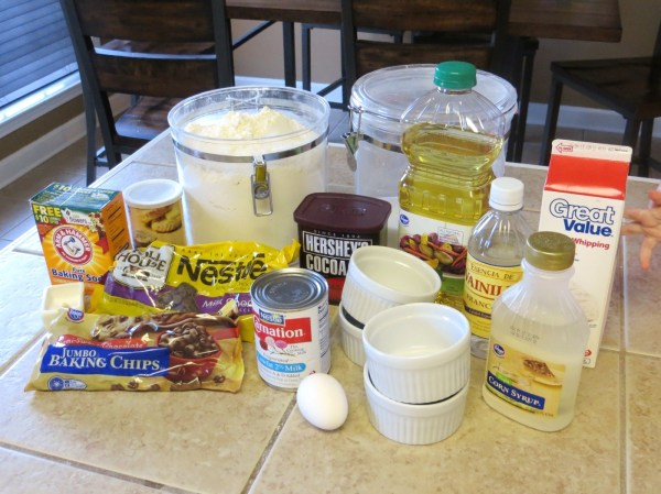 Chocolate Mousse Cake Ingredients