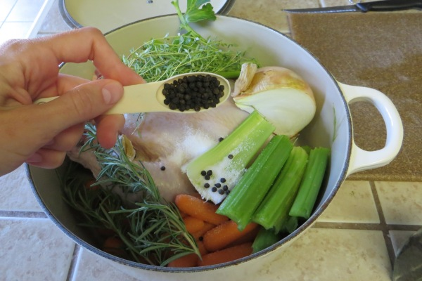 Boiling a Whole Chicken >> Pretty/Hungry Blog