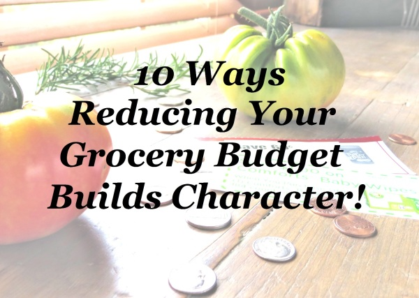10 Ways Reducing Your Grocery Budget Builds Character >> Pretty/Hungry Blog