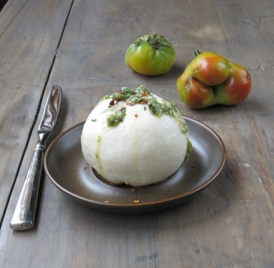 Homemade Fresh Mozzarella >> Pretty/Hungry Blog