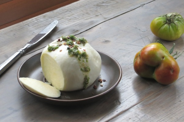 Homemade Fresh Mozzarella
