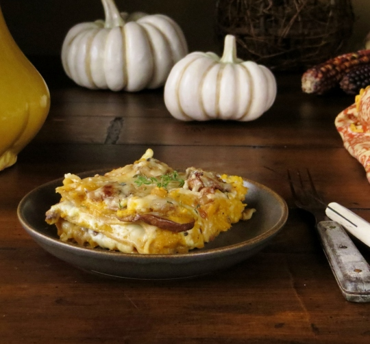 Savory Pumpkin Lasagna > Pretty/Hungry Blog