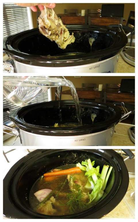 Crock Pot Chicken Broth >> Pretty/Hungry Blog