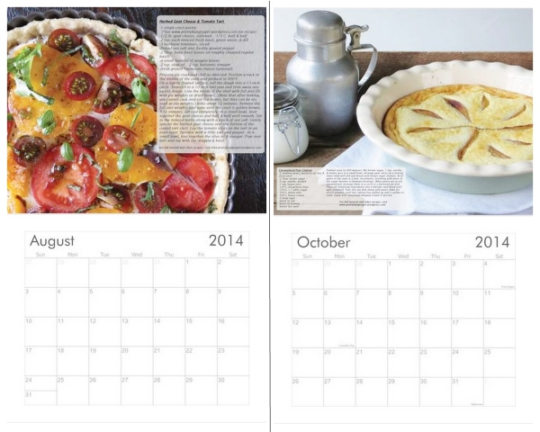 A Pretty/Hungry Year- 2014 Recipe Calendar Featuring Recipes & Photos by Carissa Casey: Author of the Pretty/Hungry Blog