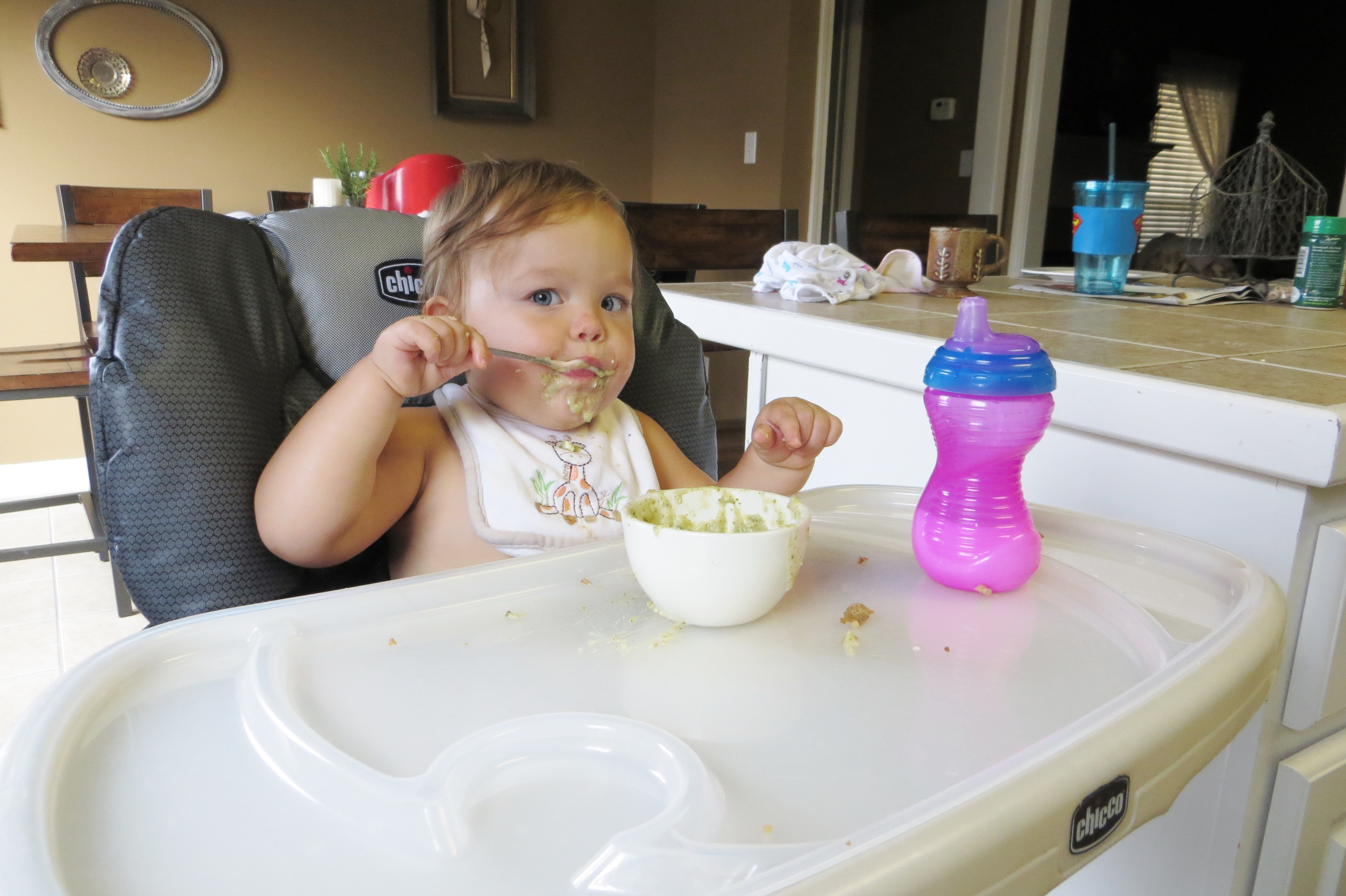 Feeding your baby part 3 10 14 months pretty hungry for 10 month old eating table food