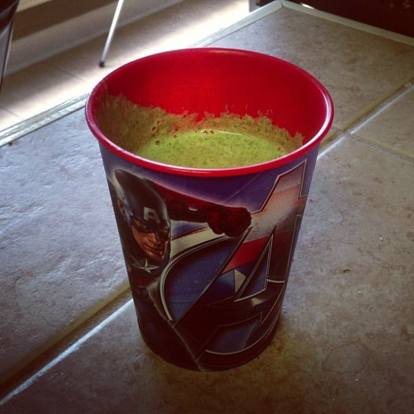 Tropical Green Smoothie - Pretty/Hungry Blog